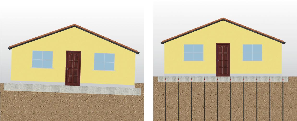 Gebäudeanhebung