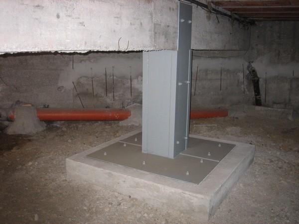 Approfondimento plinti di fondazione for Piccola casa costruita su fondamenta
